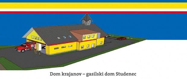 Na Studencu postavili temeljni kamen za izgradnjo novega Doma krajanov – gasilskega doma