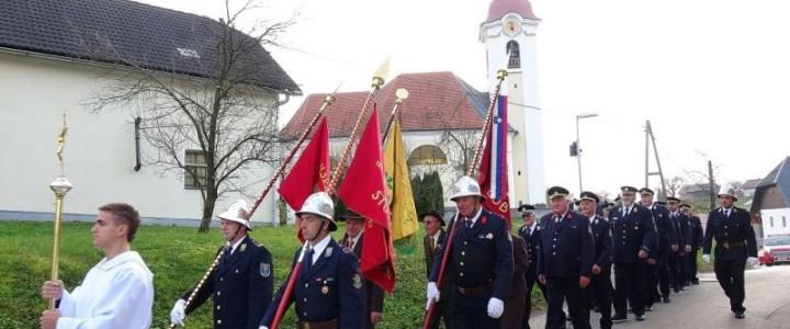 Blagoslov novega doma krajanov – gasilskega doma Studenec