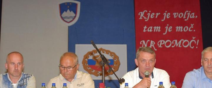 V Grobljah gostili vodstvo Gasilske zveze Slovenije
