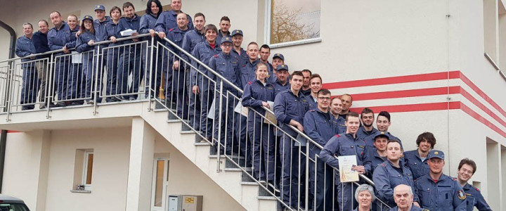 Gasilci Gasilske zveze Domžale močnejši za 35 višjih gasilcev