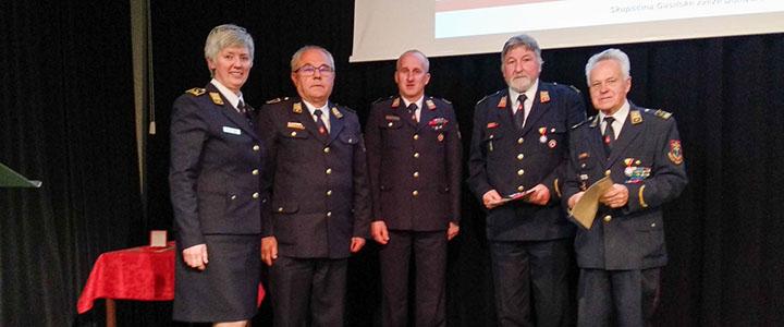 Skupščina Gasilske zveze Domžale – tudi leto 2018 je bilo za gasilce pestro in delavno