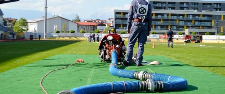 Gasilke in gasilci v Domžalah pokazali svoje spretnosti