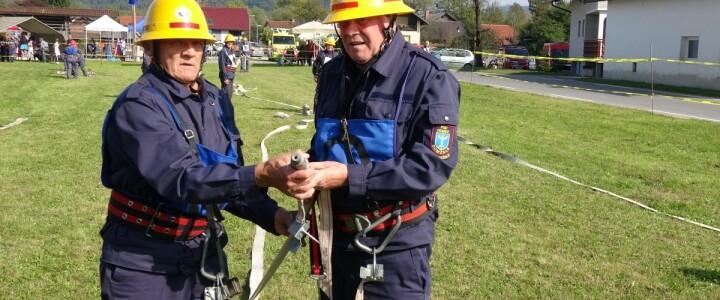 Gasilski veterani na tradicionalnem tekmovanju v Študi