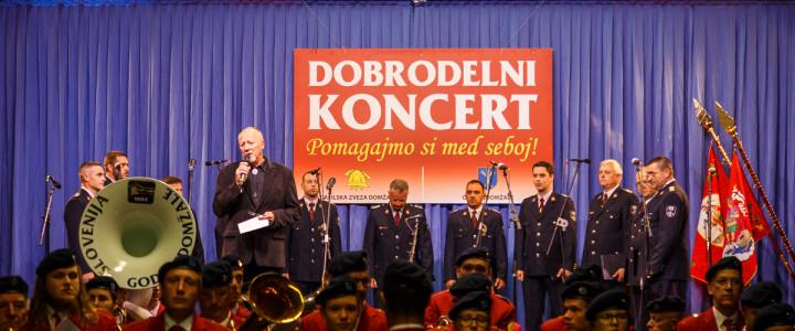 Dobrodelni gasilski koncert letos v znamenju jubileja